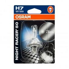 Moto žarulja OSRAM 12V H7 55W NightRacer 50
